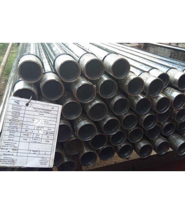 Труба стальная изолированная  водогазопроводная (ВГП) Ду 65мм. Дн 75.5x4.0мм. ГОСТ (ДСТУ) 3262-75